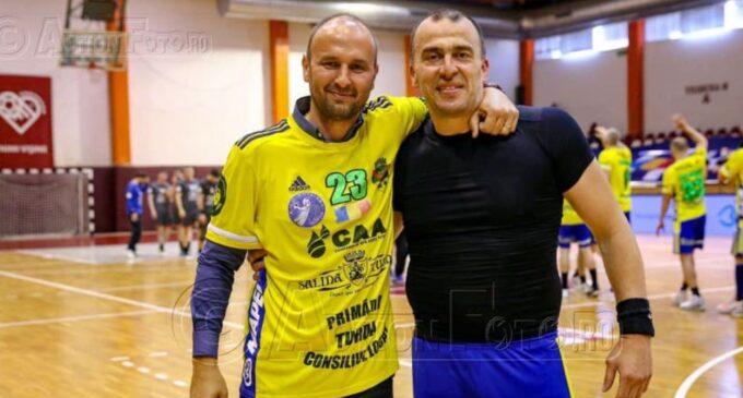 """Flaviu Sâsâeac, mesaj pentru Nenad Savic: """"Capitane: Turda este si va fi intotdeauna casa ta, iar noi te vom iubi mereu! 💛💙"""""""