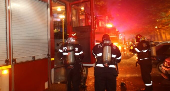 ISU Cluj: Incendiu la o pensiune turistică din Turda