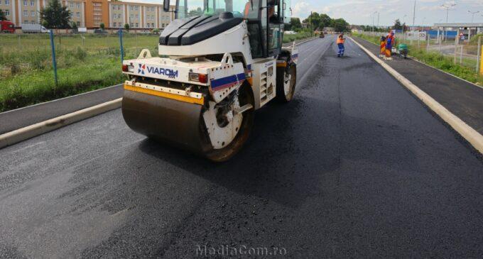 Rută alternativă de evitare a traficului pentru participanții la trafic care se îndreaptă spre Oprișani