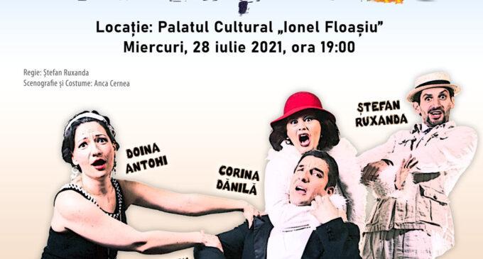 Primăria Câmpia Turzii și Teatrul Elisabeta din București vă invită la spectacol!