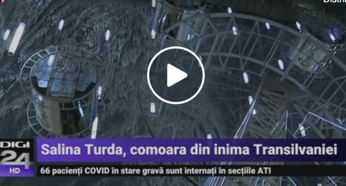 Digi 24: Salina Turda, comoara din inima Transilvaniei