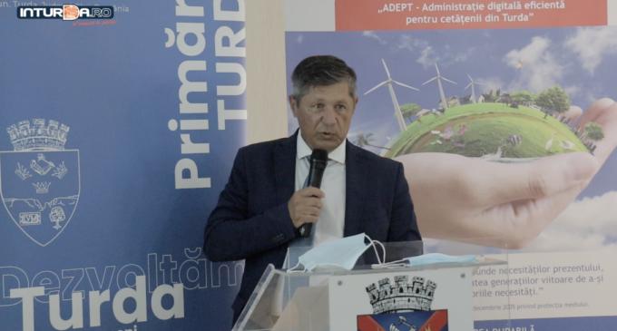 """VIDEO. Conferință de presă – Finalizarea implementării proiectului """"ADEPT – Administrație digitală eficientă pentru cetățenii din Turda"""""""