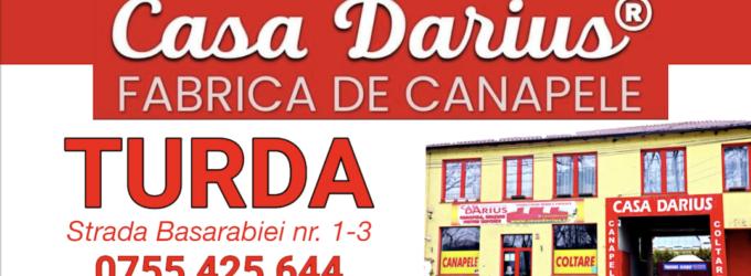 Casa Darius –  Canapele, colțare și paturi tapițate. Te așteptăm la magazinul din Turda!