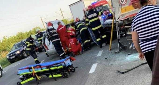 Accident mortal în județul Cluj! A intervenit și elicopterul SMURD