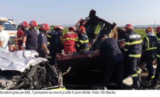 """Vicepreședintele ALDE, Avram Gal, dupa weekendul sângeros de pe șosele: """"România pierde în accidente rutiere echivalentul populației unui oraș de dimensiuni mai mici."""""""