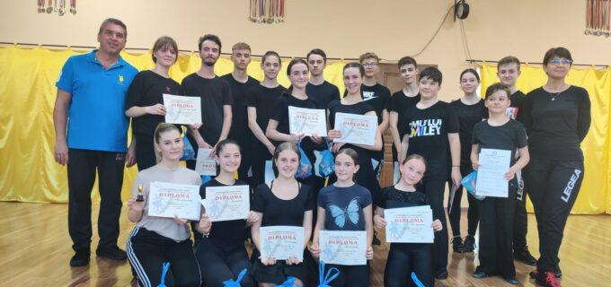 Activitatea Clubului de Dans Sportiv Potaissa Turda (ianuarie – iunie 2021)