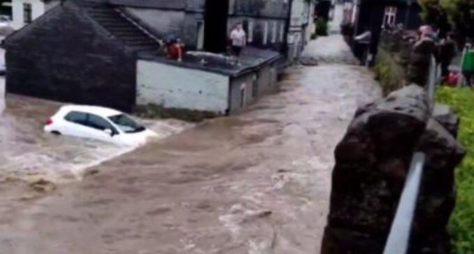 COD ROȘU de inundații în județele Cluj și Alba