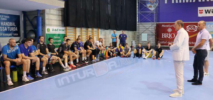 Magnificii de la Potaissa Turda au început pregătirile pentru noul sezon competițional