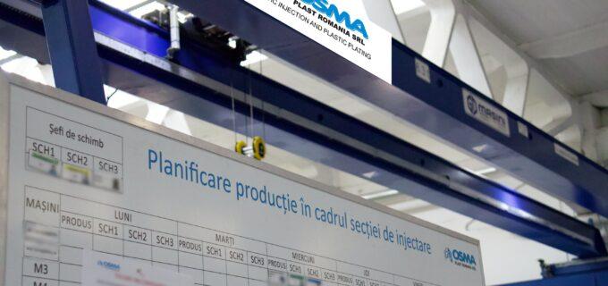 Osma Plast Turda angajează PLANIFICATOR PRODUCȚIE
