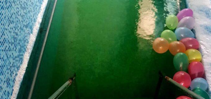 Bazin cu apă sărată la Complexul Balnear Potaissa