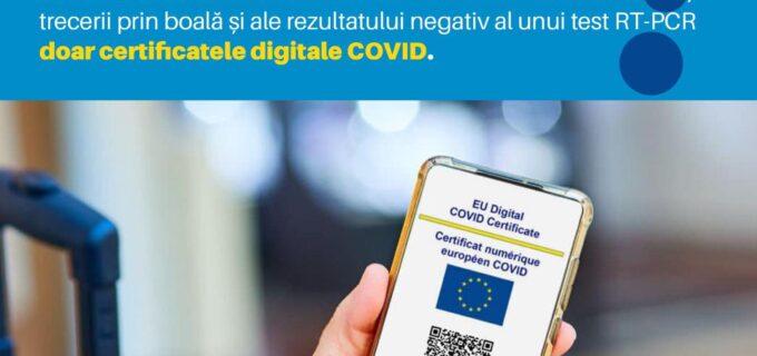 🇪🇺🇷🇴 Descarcă certificatul digital UE privind COVID și călătorește în siguranță!