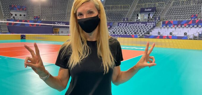 Cristina Pîrv este event manager în cadrul Grupei C a Campionatului European de Volei Feminin