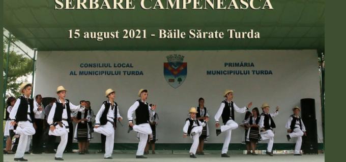 Primăria Turda si Casa de Cultură Turda vă invită la tradiționala serbare câmpenească în Băile Sărate Turda