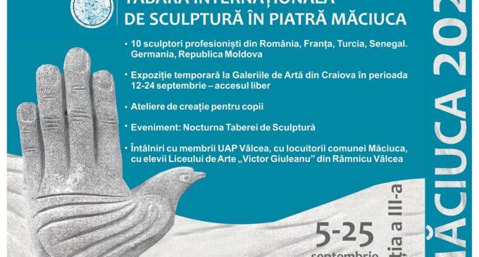 Cea de-a treia ediție a Taberei Internaționale de Sculptură în Piatră Măciuca