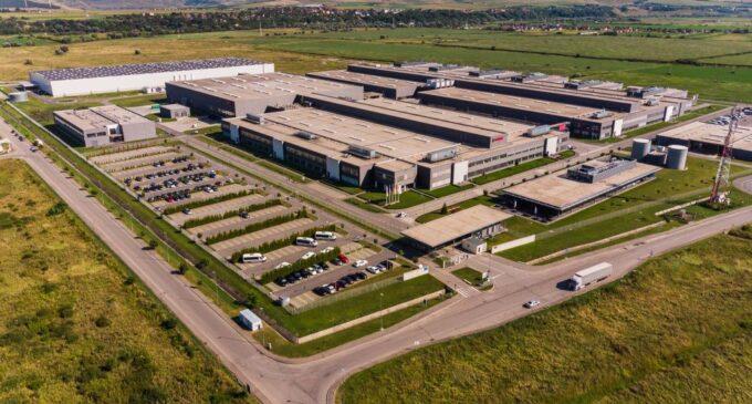 Bosch deschide oficial a treia hală de producție la Cluj
