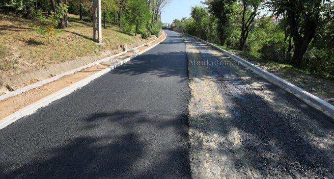 Primăria Turda: Avansează lucrările de modernizare pe strada Castanilor FOTO