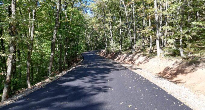 A fost finalizată asfaltarea drumului județean 103V Someșu Rece – Stolna
