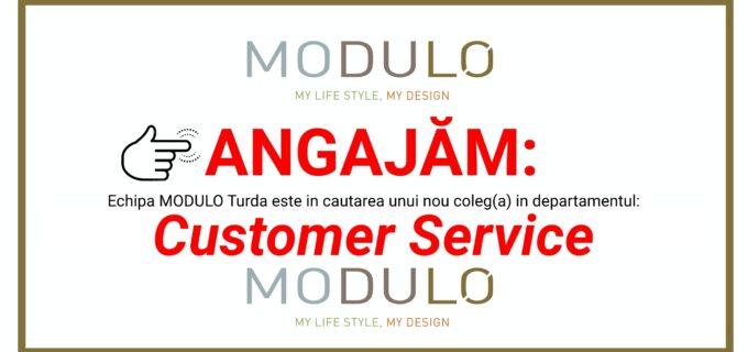 Echipa MODULO Turda este in cautarea unui nou coleg(a) in dpt. Customer Service!