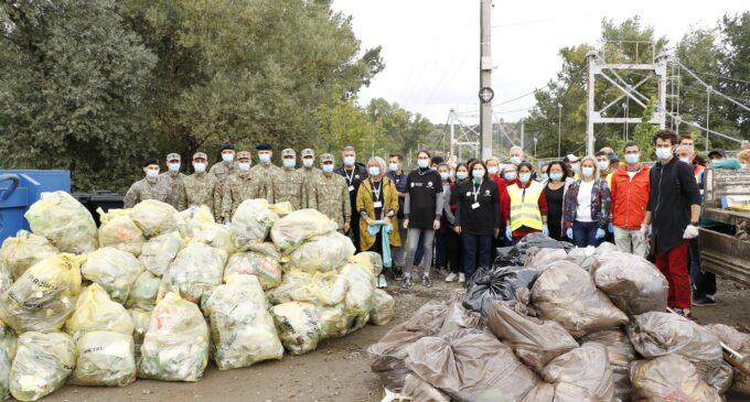 Primăria Turda: O nouă campanie de ecologizare, în colaborare cu Let's Do It, Romania!, încheiată cu succes