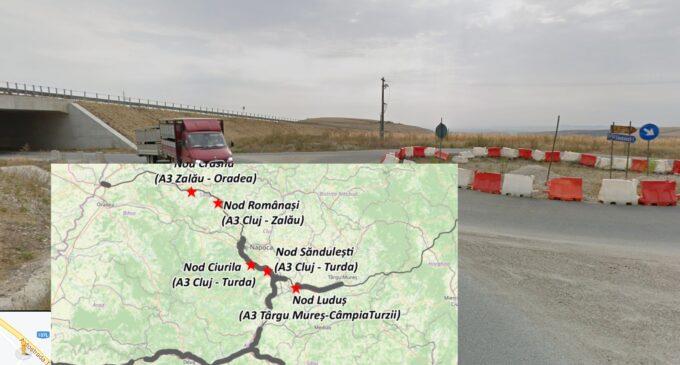 Matei Cristian: Ministerul Transporturilor a lansat licitatia pentru înfiintarea nodului rutier de pe autostrada A3, la km 17, Turda/Săndulești