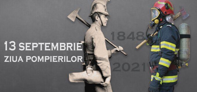 13 septembrie – Ziua Pompierilor din România. IGSU: La mulți ani vouă, apărători ai vieții!