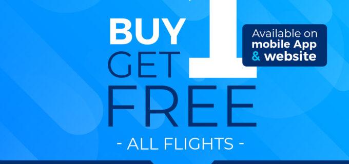 Ofertă Blue Air: Cumperi 1 BILET, PRIMESTI 1 GRATUIT!