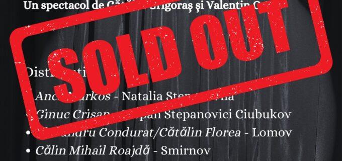 SOLD OUT la Teatrul Național Aureliu Manea Turda: Biletele pentru premiera din această sâmbătă s-au epuizat!