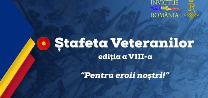 """În data de 22 octombrie 2021 """"Ștafeta Veteranilor"""" ajunge în Municipiul Câmpia Turzii"""