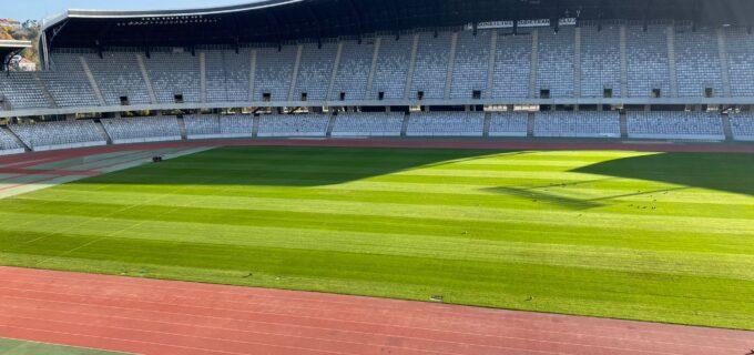 CJ Cluj – Gazonul de pe Cluj Arena, recent înlocuit, pregătit pentru competiții sportive
