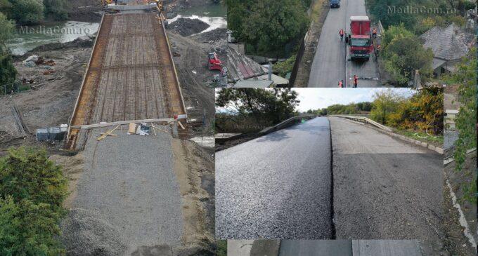 Foto/VIDEO: A început asfaltarea străzii Alba Iulia